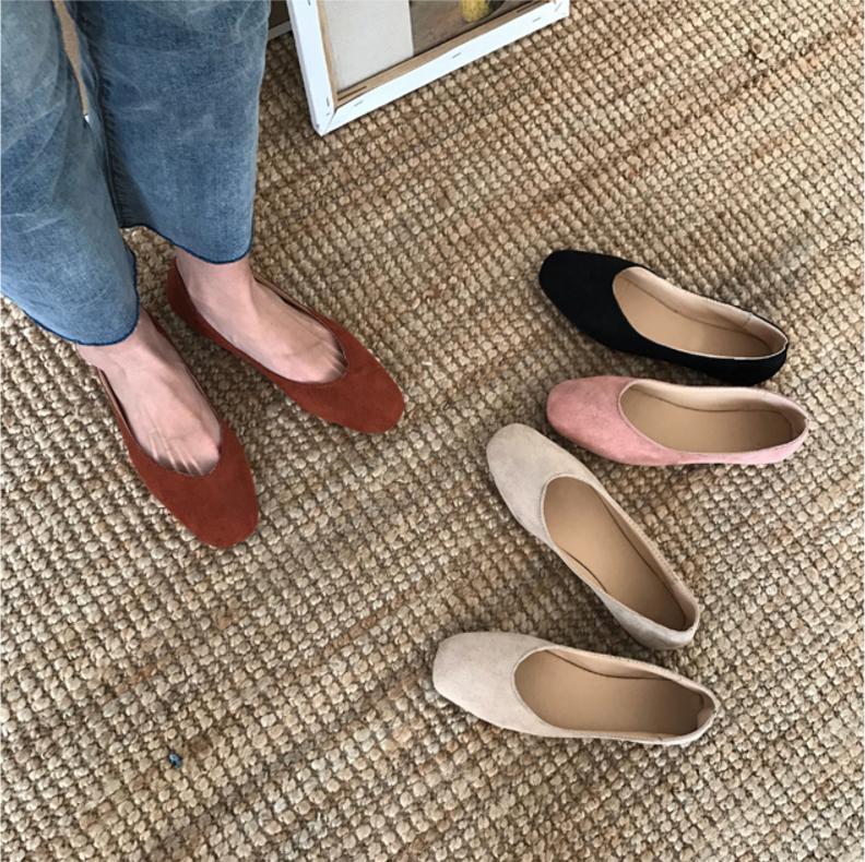 女鞋夏懒人一脚