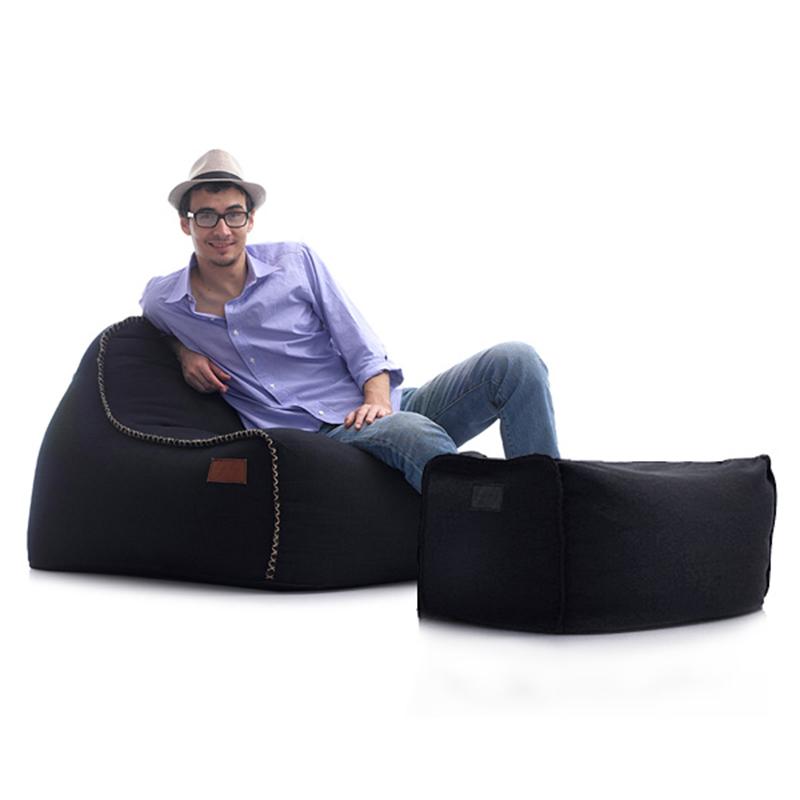 lazylife纯色懒人豆袋设计师创意沙发椅现代简约单人纯色懒人沙发