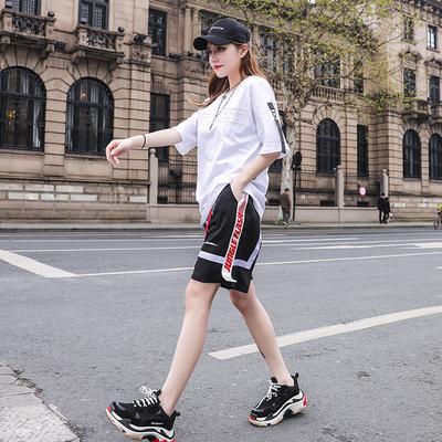 时尚套装女装官方旗舰店尤西子艾蜜雪2019夏装新款秋比米祖正品