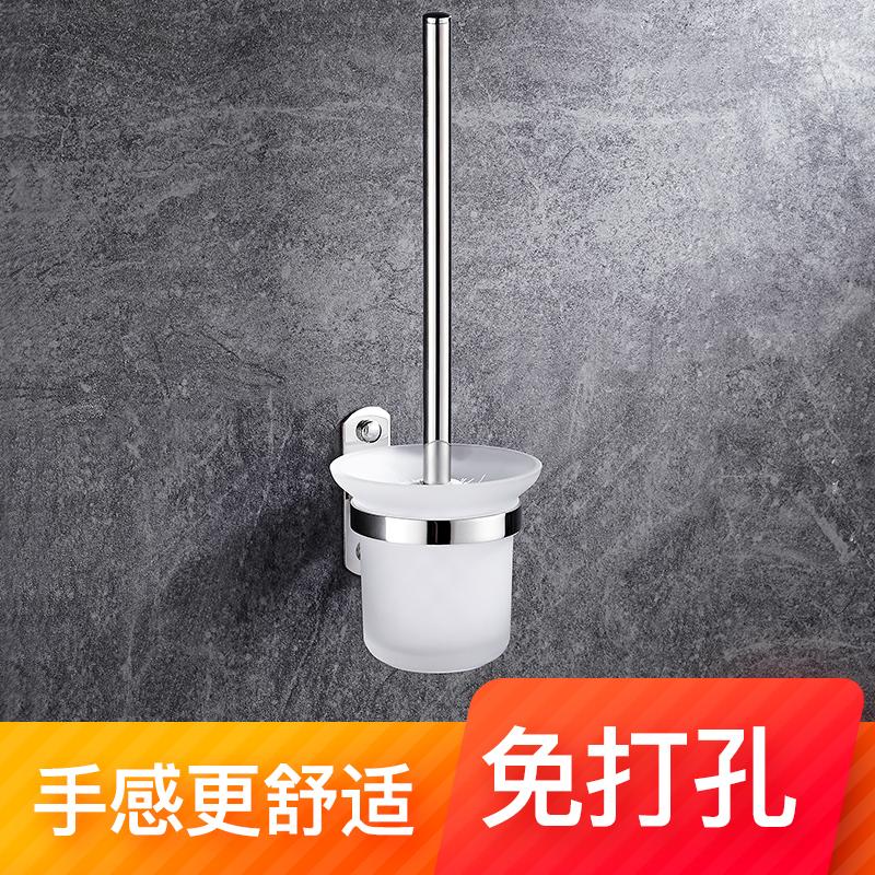 免打孔马桶刷家用洗厕所刷马桶的刷子厕所刷洗马桶卫生间置物架子
