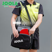 Genuine JOOLA Yula table tennis bag sports bag multi-function excellent pull table tennis racket shoulder bag