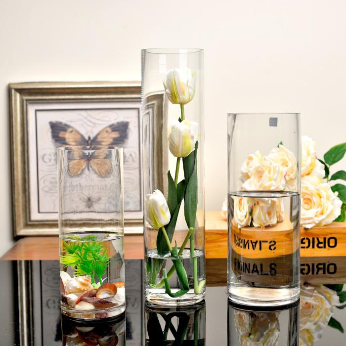玻璃花瓶路引