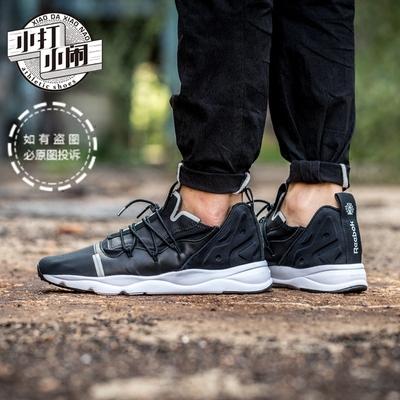 新款锐步 Reebok FuryLite X 黑白太极男女运动休闲跑鞋 BS6191官方旗舰店