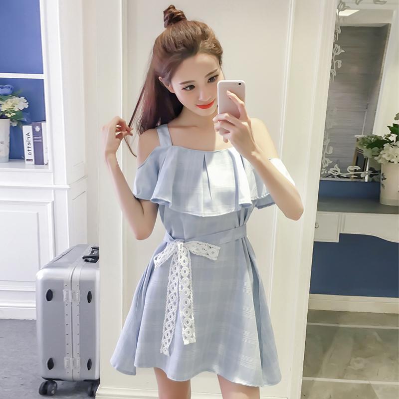 2018夏款吊带裙