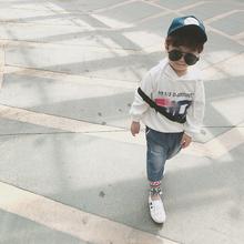 连帽女童卫衣春秋新款 儿童潮上衣宝宝纯棉韩版 男童卫衣2018新款