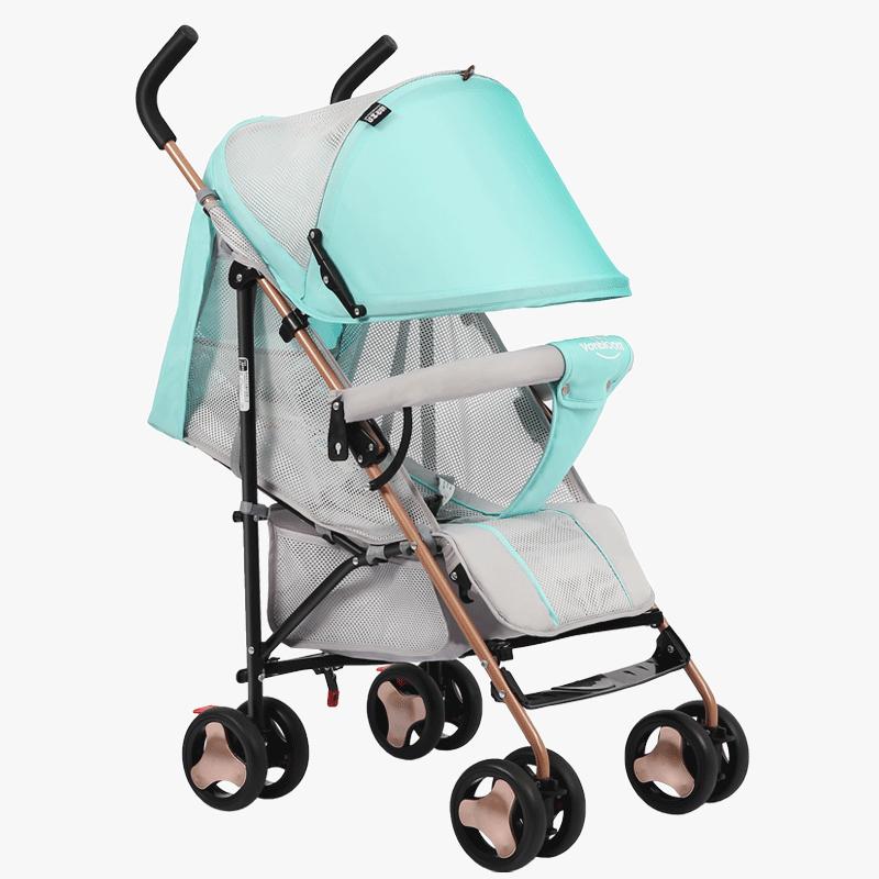 万宝乐婴儿推车轻便折叠可坐可躺简易单向轻便避震儿童宝宝手推车