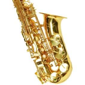 德国正品乐器萨克斯降E调萨克斯风中音/初学者考级赠大礼包