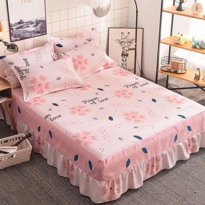 床罩床裙式床套单件防尘保护套1.5米1.8m床单床垫床笠防滑四件套