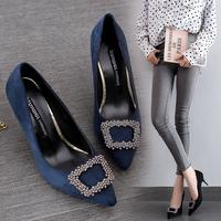女鞋高跟单鞋