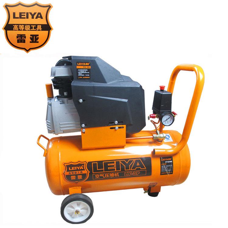 直联式空压机1.5KW全铜电机空气压缩机220V工业级打气充气泵