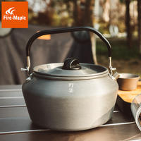 Fire Maple Wild Big Teapot Outdoor Kettle 1.2L Large Capacity Camping Teapot Portable Anti-scalding Handle