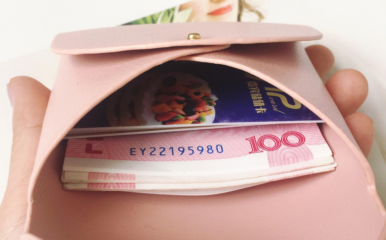 包包2018韩版钱包短款女迷你小包两折零钱包简约小清新折叠硬币包
