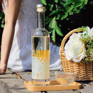 桂花酒小瓶装高颜值少女低度甜酒女士桂花酿露酒花田巷子糯米果酒