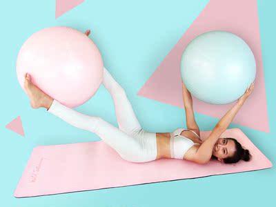 瘦腿优雅必备瑜伽球大气初学者减肥运动安全健身球防爆瘦腰小球