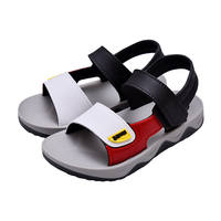 Boys and children's sandals shoes 2019 new summer big children Korean version of the baby children's beach shoes children's shoes