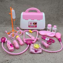 儿童过家家男孩听诊器宝宝医疗箱打针护士女孩 小伶玩具小医生套装图片