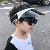 Star with the same polarized visor female sunscreen UV sun hat casual empty top hat boys and girls eye protection tide