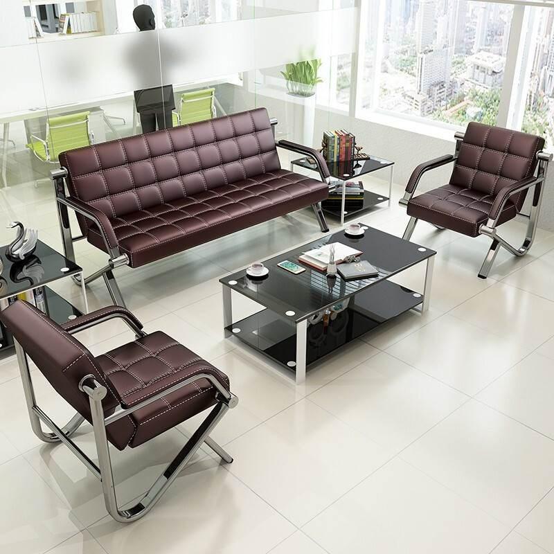 思芙美办公家具办公沙发简约现代办公室会客商务公司接待洽谈沙发