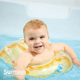 Swimava official baby swimming ring young children U-shaped underarm ring 0-3 years old newborn baby home rollover