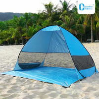 Automatic free set up speed camping children outdoor convenient light beach shade indoor travel 3-4 people tent