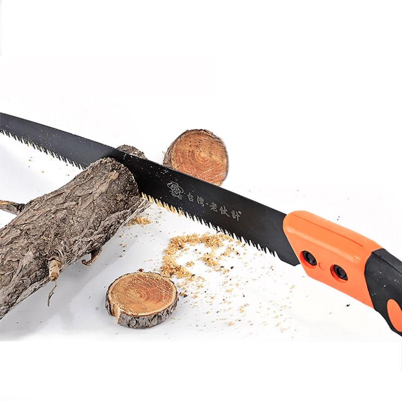 手锯家用手锯快速果树修枝锯子鸡尾锯手工锯子园林园艺锯伐木柄锯