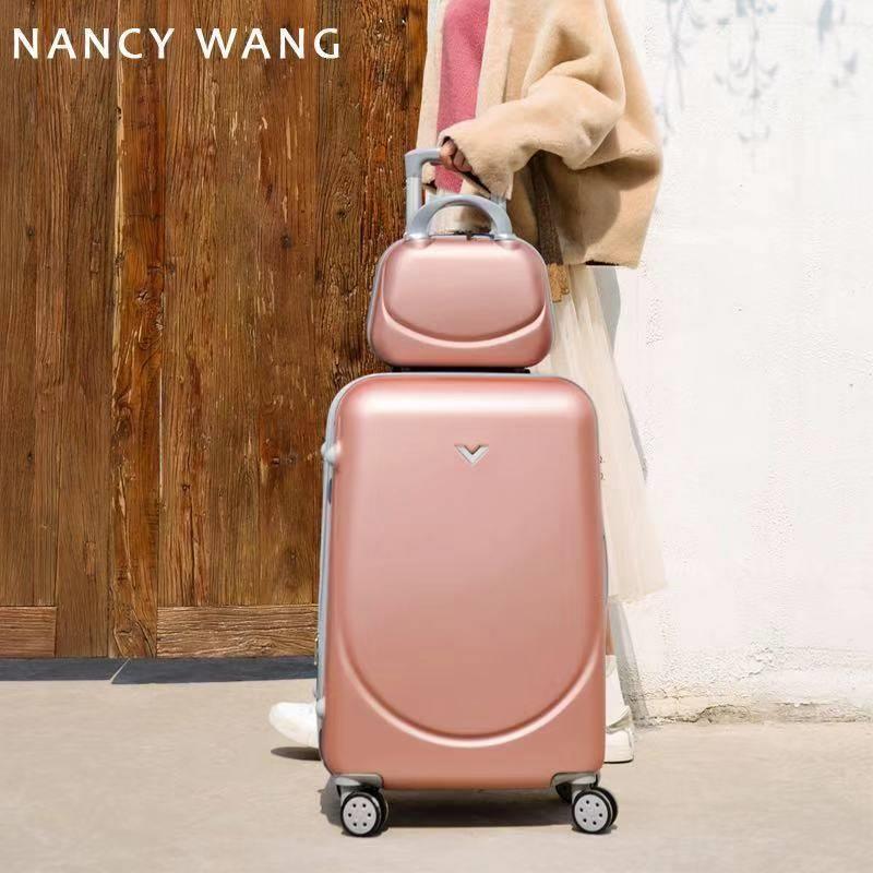 子母箱行李箱万向轮拉杆箱女20寸旅行箱包韩版男24密码皮箱子学生