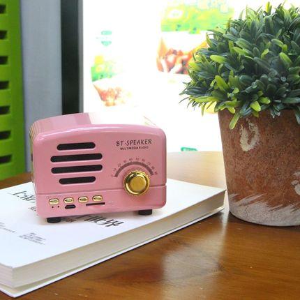 BT01小王子蓝牙音箱手机便携迷你复古插卡音响充电户外收音机喇叭