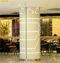 圆弧包柱铝板 波浪波板氟碳喷涂 幕墙烤漆板 广东铝板 雕花铝单板图片