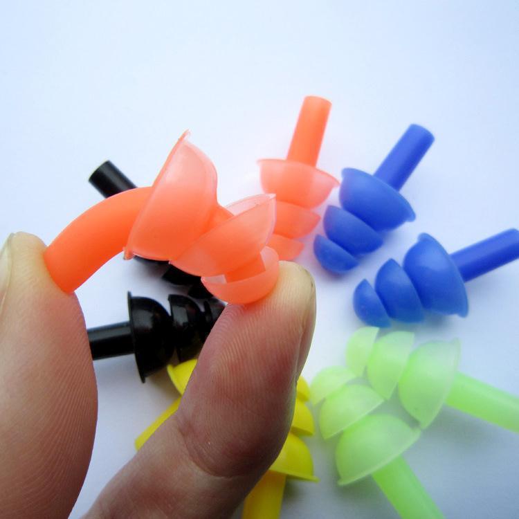 游泳鼻夹耳塞套装硅胶专业防水防滑防呛水鼻塞成人儿童套装备用品