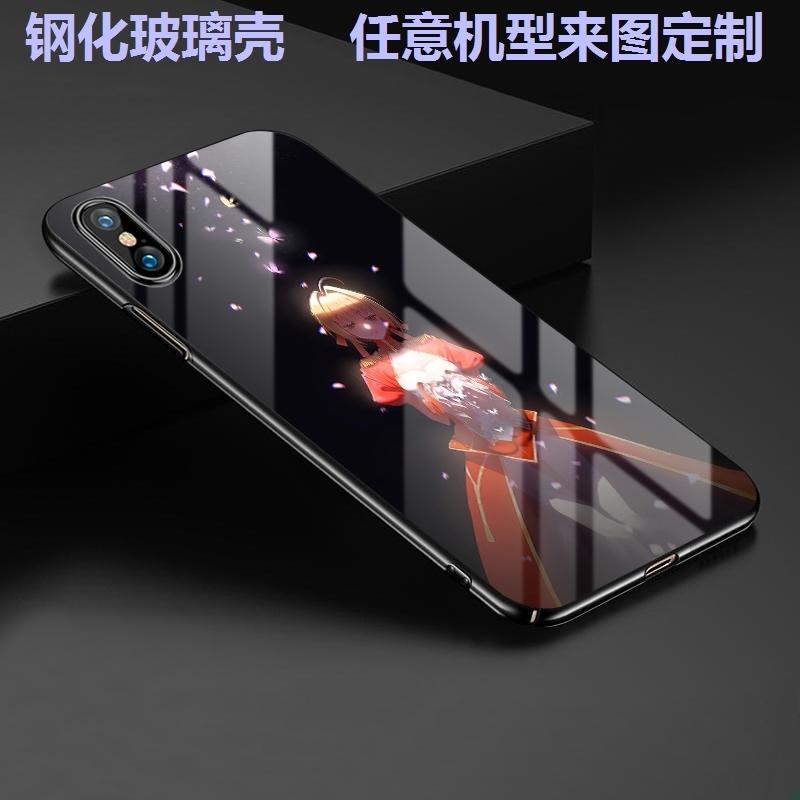 动漫fate吾王fgo小米9玻璃手机壳8se玻璃mix2s 6X贞德max3套saber