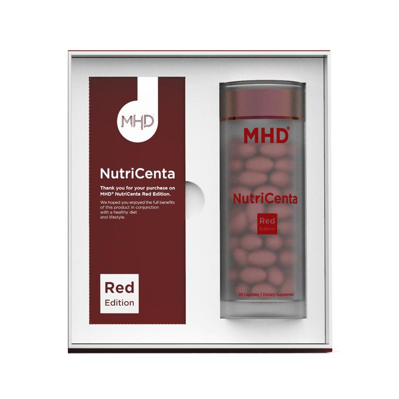 新西兰MHD红版鹿胎素胶囊童颜丸60粒红润养颜滋补保健10000mg/粒