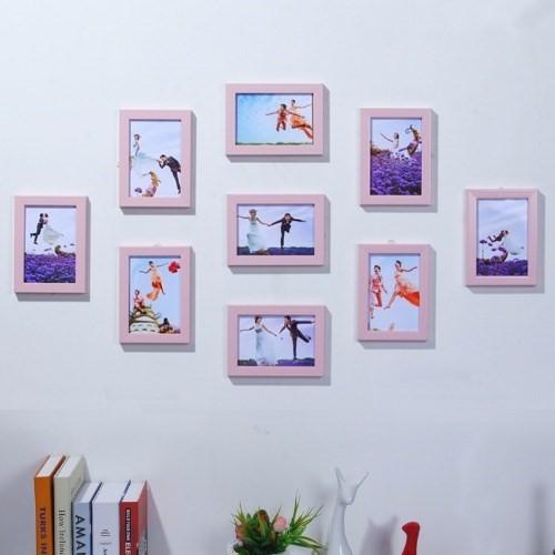 相片墙装饰品七寸挂墙房间卧室照片墙