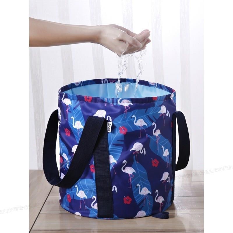 泡脚桶便携可折叠深大号泡脚盆便携式旅行高桶户外折叠桶洗手盆