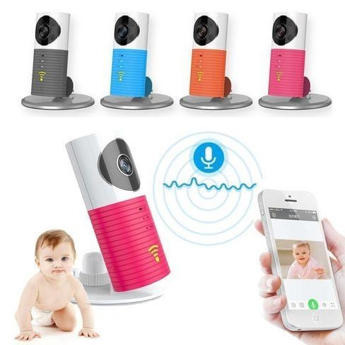 clever dog night vision baby monitor wireless video baby mon
