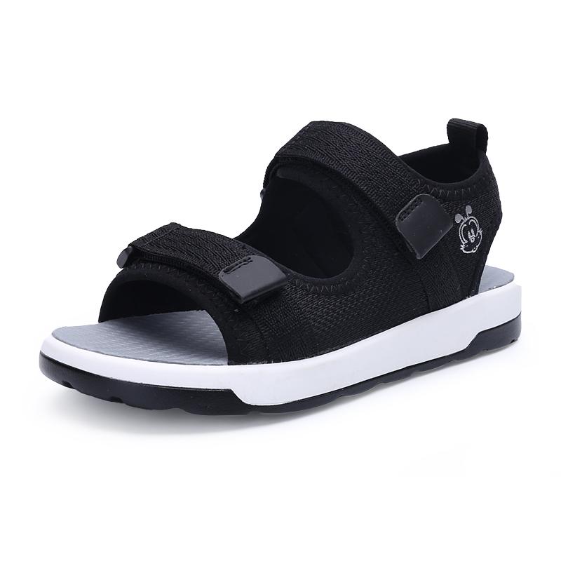 巴布豆旗舰店男童鞋凉鞋2019新款夏季中大童韩版软底儿童沙滩鞋子