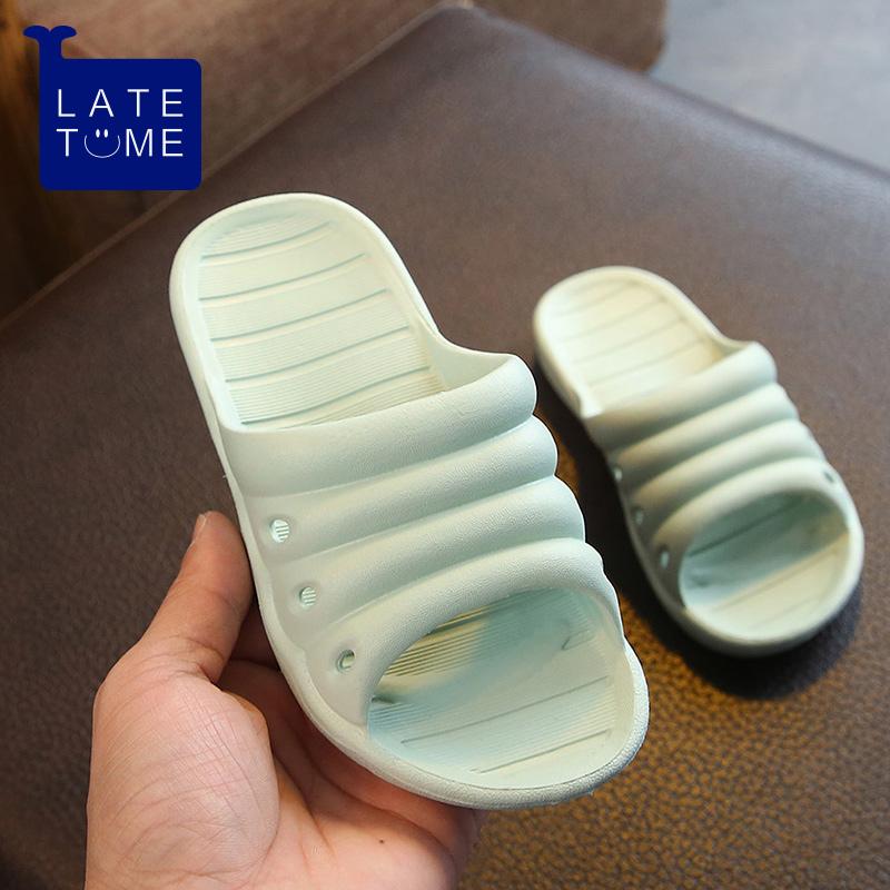 女宝宝底防滑室内家用凉拖鞋夏男童