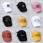 儿童鸭嘴帽春夏舒适男童女童度假小孩外出防晒潮流可爱韩版时尚