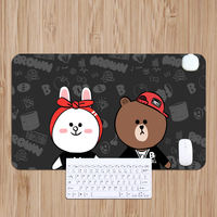 Cartoon heating table mat heating mouse pad computer desktop warm hand writing desk board electric super large warm table mat blanket