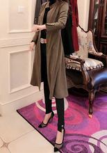 D网红爆款2019欧洲站洋气显瘦时尚风衣505