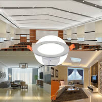 Led downlight ceiling lamp embedded 2.5 inch 8 cm 7 hole living room ceiling home small hole lamp spotlight