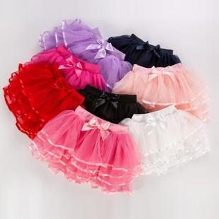 女童表演半身裙春夏短裙蓬蓬裙儿童蛋糕纱裙跳舞公主裙宝宝3-12岁