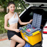 Car trunk Storage box Storage box Car Carriage supplies Car trunk Luggage box Car sorting box