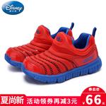 迪士尼女童运动鞋夏