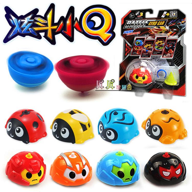 New Hyun Doo Small Q Car Gyro Hyun Moving Insect Q Inertia Toy Car Electric Cool