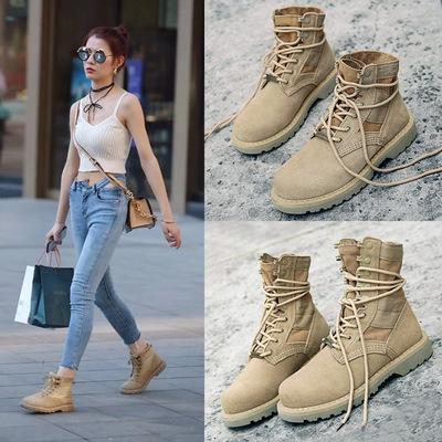 高帮鞋女短靴