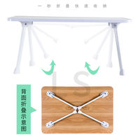 Bed desk laptop desk folding student dormitory simple home lazy bedroom sitting small table
