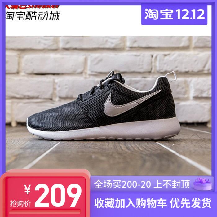 NIKE/耐克大童鞋女鞋ROSHE ONE GS 奧利奧休閑跑步鞋 599728-021