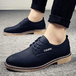 男高跟皮鞋