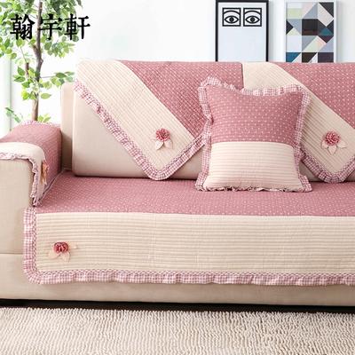沙发垫四季通用布艺纯棉简约现代防滑坐垫萬能全包沙发巾套罩全盖特价