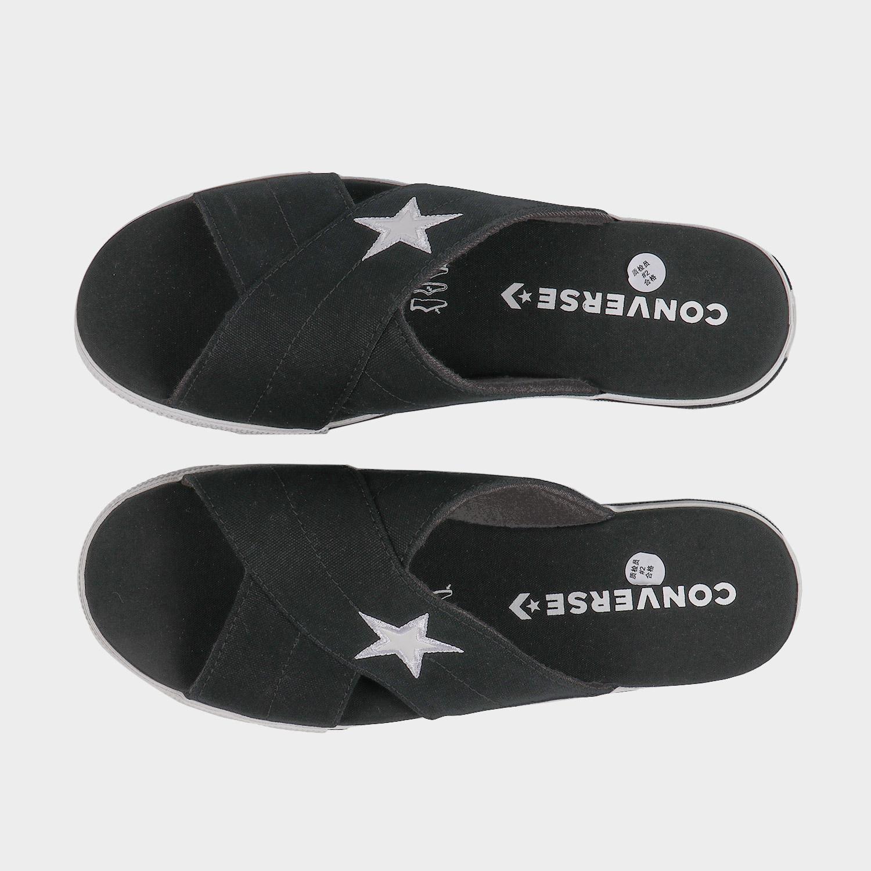 converse匡威夏季女子One Star Slide运动休闲帆布凉拖鞋565527C